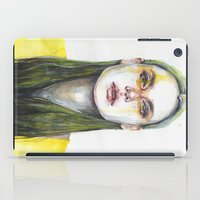 yellow iPad Cases featuring yellow lemongrass by agnes-cecile