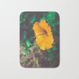 Hawaiian Flowers Bath Mat