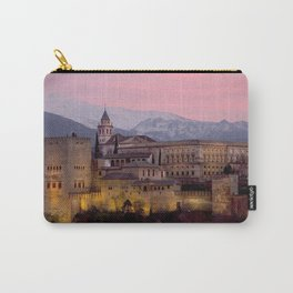 Alhambra at Sunset, Granada, Spain Carry-All Pouch