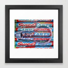 Sweet Tarts Framed Art Print