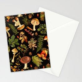 Vintage & Shabby Chic - Autumn Harvest Black Stationery Cards
