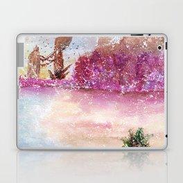 A New World Watercolor Art Illustration Laptop & iPad Skin