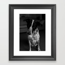 Good Girly Framed Art Print