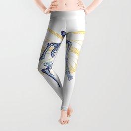 Skeleton Fairy Leggings