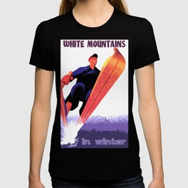 White Mountains in Winter T-shirt