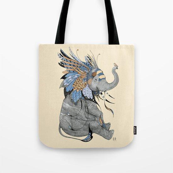 Hybrid Elephant Tote Bag