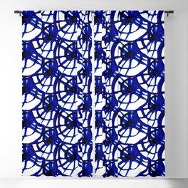 Shibori Curly Maze Blackout Curtain