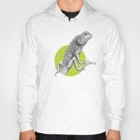 lizard Hoodies featuring Lizard by HanYong