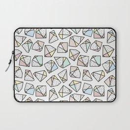 Polygonal stones and gemstones Laptop Sleeve