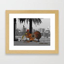 Ilchook Circuit Framed Art Print