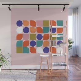 Colorful Geometry Wall Mural