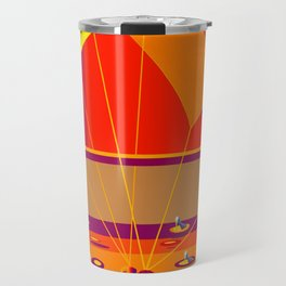 Stepping on May's Shoes - shoes stories Travel Mug