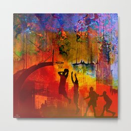 A summer in New York Metal Print