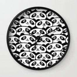 Panda Mania Wall Clock
