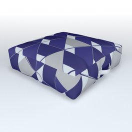 3D Lovely GEO III Outdoor Floor Cushion