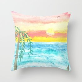 skyscapes 3 Throw Pillow