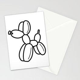 Outline pattern of modern art Stationery Cards