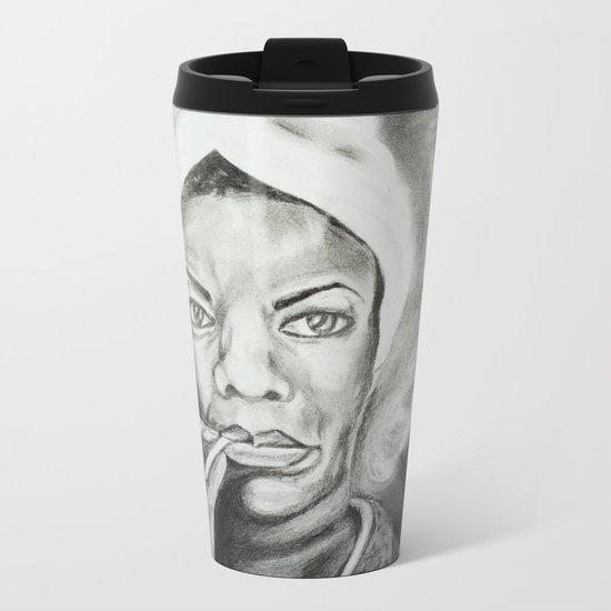 Nina Metal Travel Mug