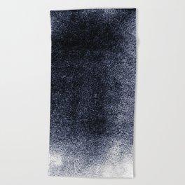 Black Mist Field Beach Towel