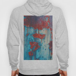Abstract artistic surface with rusty stains Hoody