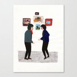 to meet Canvas Print