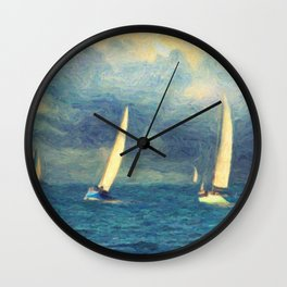 Chios Wall Clock