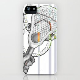 Lacrosse iPhone Case