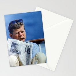 John F Kennedy Smoking Stationery Cards