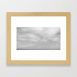 Bray, Ireland (2) - BW Framed Art Print