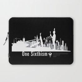 One Sixth Ism (White World) Laptop Sleeve
