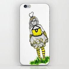 The BumbleBee Girl  iPhone & iPod Skin