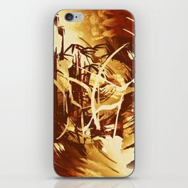 Afrikanische Krieger iPhone Skin