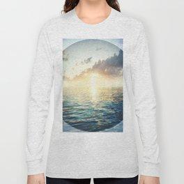 Bright Blue Horizons Long Sleeve T-shirt