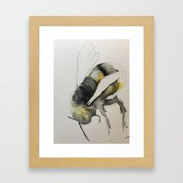 Buzzy Little Bee Framed Art Print