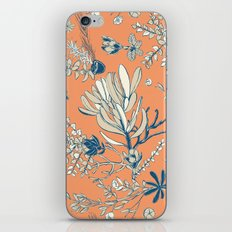 Orange Cradle Flora iPhone & iPod Skin