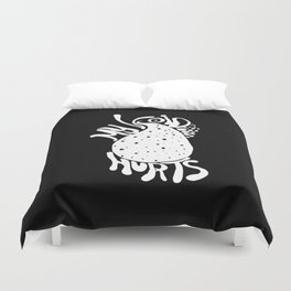 Oh, Inverted Void Duvet Cover