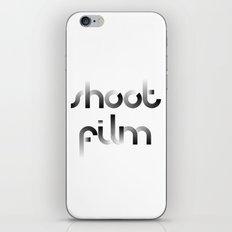 Shoot Film iPhone & iPod Skin