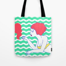 Pool Girl Tote Bag