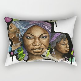 Nina Simone Rectangular Pillow