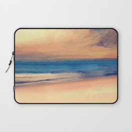 Approaching Sunset Abstract Seascape Laptop Sleeve