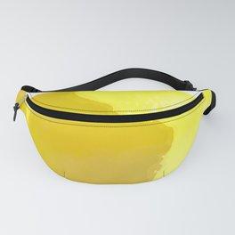 Lemon Watercolor Fanny Pack
