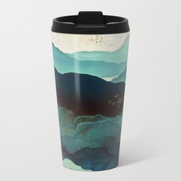 Indigo Mountains Metal Travel Mug