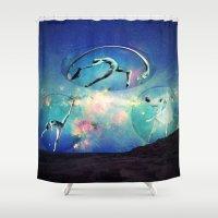 ballet Shower Curtains featuring Ballet by Cs025