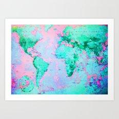 Wanderlust Art Print