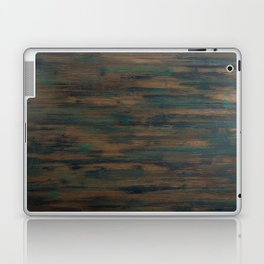 Beautifully patterned stained wood Laptop & iPad Skin