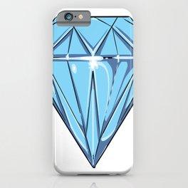 big blue Diamond iPhone Case