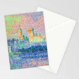 """Paul Signac """"Palais des Papes Avignon"""" Stationery Cards"""