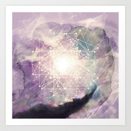 sacred geometry Art Print