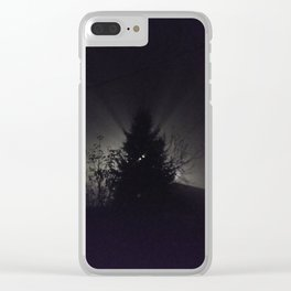Night's light Clear iPhone Case
