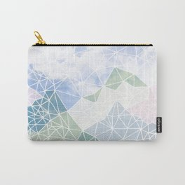 Multicolour Magic Mountains Carry-All Pouch